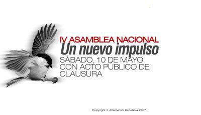 IV ASAMBLEA NACIONAL DE AES